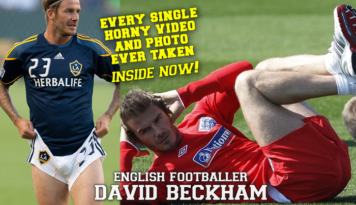 David Beckham, former English footballer