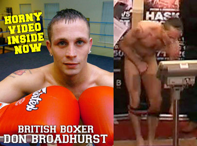 Don Broadhurst, British boxer