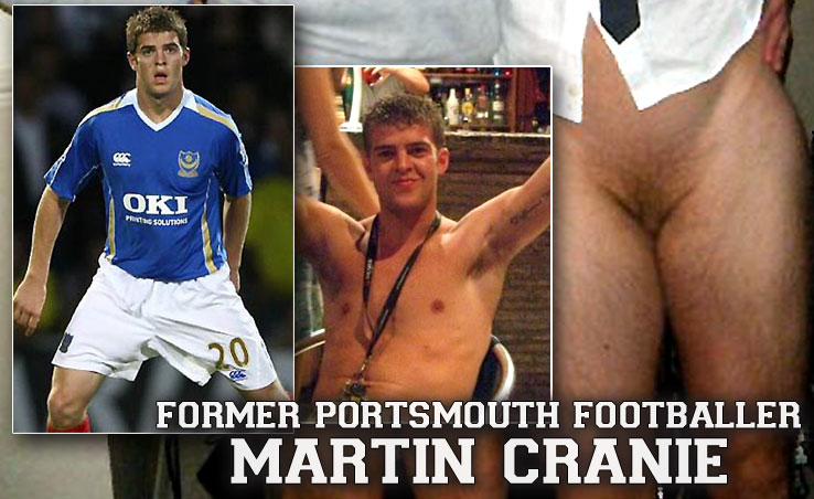 Martin Cranie exposes himself