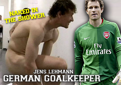Jens Lehmann, German goalkeeper