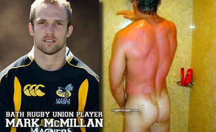 Mark McMillan - Bath Rugby Union Player