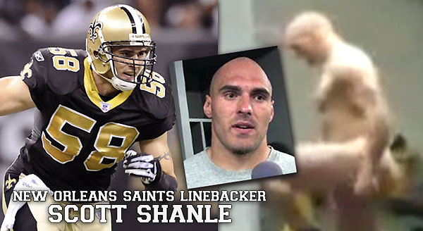 Scott Shanle, New Orleans Saints linebacker